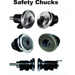 TILTING TYPE WALL MOUNTING SAFETY CHUCK
