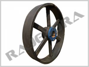 Paper Mill Pulley