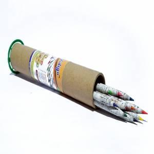 Color Lead Paper Pencil Box
