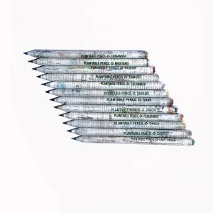 Plantable Seed News Paper Pencil