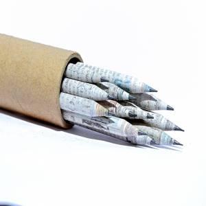 News Paper Pencil Box