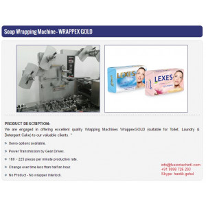 Beauty Soap Packing Machine