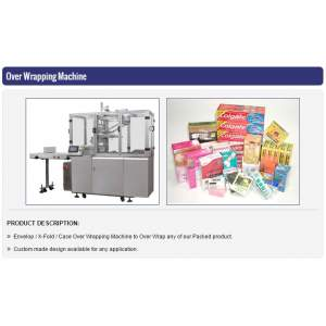Over-Wrapping Machine