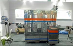 120 BPM Bottle Rinsing Filling Capping Machine