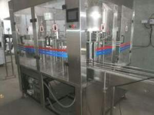 40 BPM Mineral Water Filling Machine