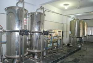 Mineral Water Bottling Plant (2000 LPH)