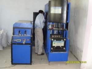 Semi Automatic PET Stretch Blow Moulding Machine