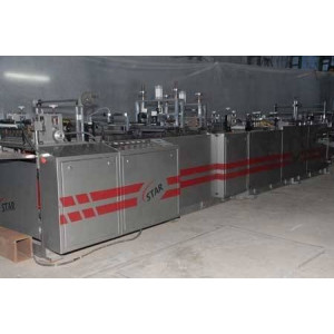 CENTER SEAL POUCH MAKING MACHINE AND THREE SIDE SEALING MACHINE