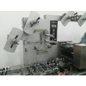 Soap Wrapping Machine With Servo In LeHavre France