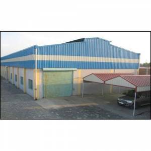 Color Coated Roofing Shed