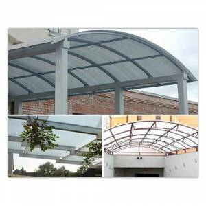 FRP Roof Structure