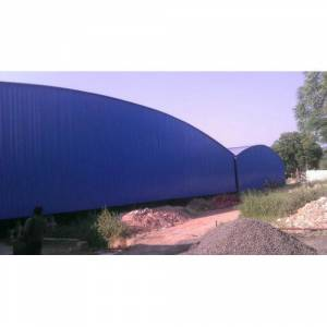 Precoated Roofing Shed