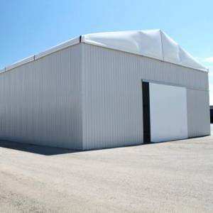 Prefabricated Industrial Storage Shed