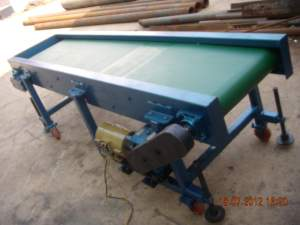 PVC Belt Conveyor System