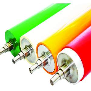 RUBBER ROLLER FOR EXTRUSION LAMINATION MACHINE