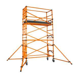 Scaffold Tower /Scaffolding Tower Movable With Wheel