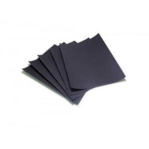 Black Polish Paper