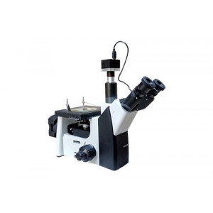 Inverted Metallurgical Microscope With Camera