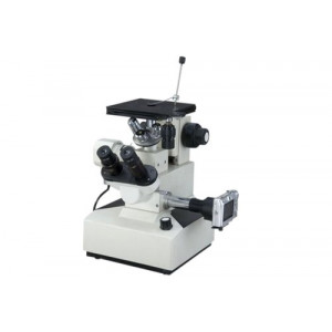Metallurgical Microscope With Camera