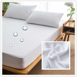 PLASTIC BED SHEET WITH PILLOW COVER