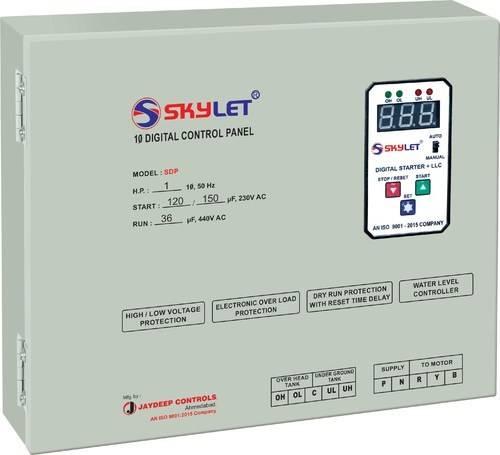 Single Phase Digital Control Panel Sdp Jaydeep Controls Ahmedabad India