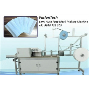 Semi-Automatic Mask Making Machine