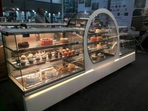 Cakes display counter