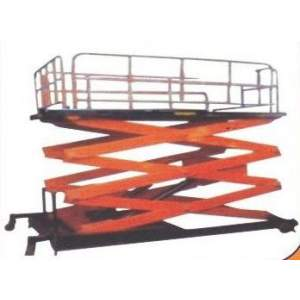 Movable Hydraulic Scissor Lifting Table