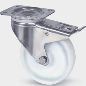 Pressed Steel Caster Wheels