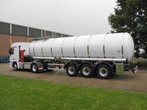 Bulk Liquid Tanks And Semi Trailers