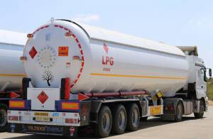 Gas Tanks And Semi Trailers