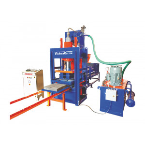 Vcepl 105 Automatic Heavy Duty Hydraulic Press For Fly Ash Bricks And Interlocking Paver