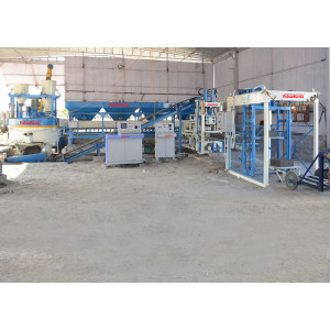 VCEPL-100 Automatic Heavy Duty Block And Bricks Making Machine With Batching Plant