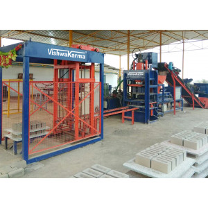 VCEPL-104 Automatic Heavy Duty Hydraulic Press For Interlocking Paver Block
