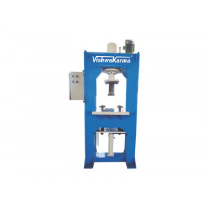 VCPEL 106 Auto D Molding Hydraulic Press For Interlocking Paver Block