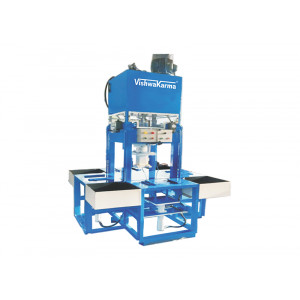 VCPEL 107 OIL HYDRAULIC PRESS FOR INTERLOCKING PAVER TILES & KERB STONE