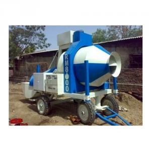 Reversible Concrete Mixer Machine