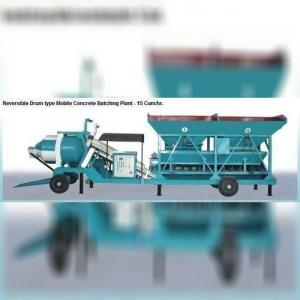Reversible Drum Type Concrete Batching Plant