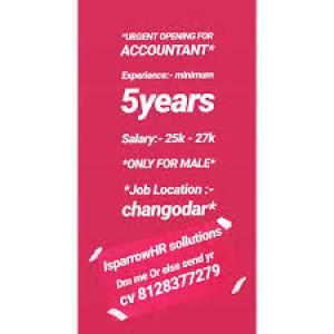 Urgent Opening Accountant