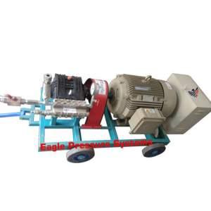Boiler Cum Heat Exchanger Jetting Machine