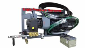 High Pressure Hydro test pump systems