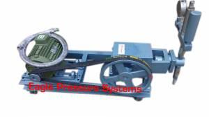 Single Piston Hydro test pump system
