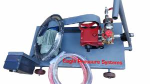 35 bar high Pressure Hydro test pump systems