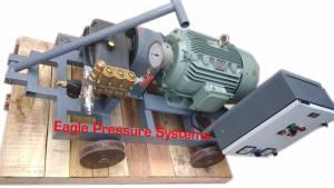 High Pressure triplex plunger water jet pump systems