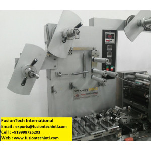 DETERGENT SOAP WRAPPING MACHINES