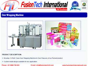 OVER WRAPPING MACHINE MANUFACTURER In Heraklion, Greece