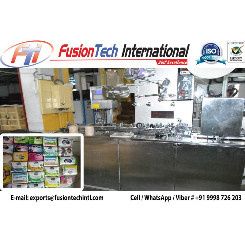 BATH SOAP WRAPPING MACHINE MANUFACTURER In Cairo, Egypt ...