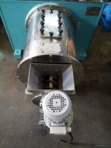 Pusher Centrifuge With Screw Feeder