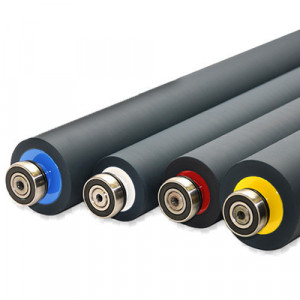 INKING RUBBER ROLLER