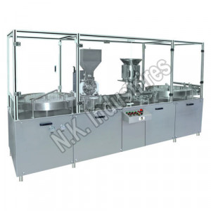 Automatic Single Head Injectable Dry Powder Filling Machine
